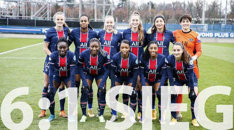TOLLE NEUIGKEITEN AUS PARIS. Charlotte Voll (PSG) holt Champions League Sieg mit ihrer Mannschaft...
